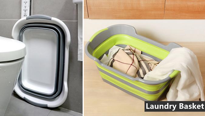 Multi-Functional Foldable Laundry Basket - 2 Colours
