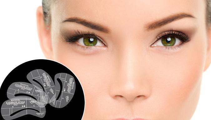 Eyebrow Shaping Stencil Set