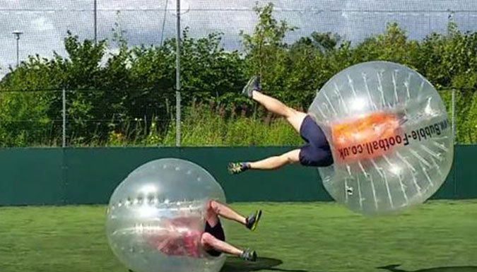 1-Hour Bubble Football for Up to 15 People - Venues Nationwide (400+)