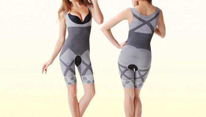 Full Body Bamboo Shapewear Suit - 3 Colours & 3 Sizes
