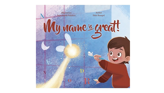 Story of My Name Book - 5 Options from The Story Tailors