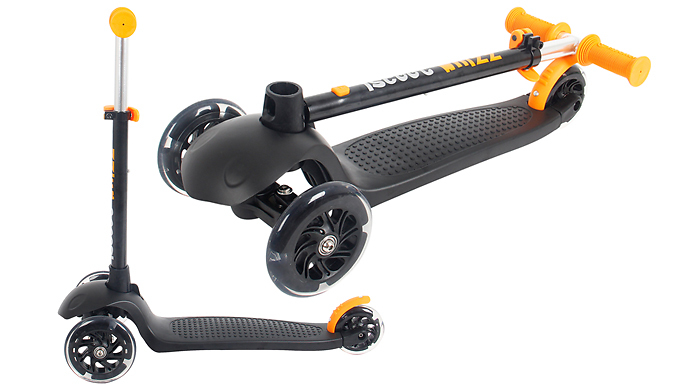 iScoot Whizz Kids Scooter with LED Wheels - 5 Colours