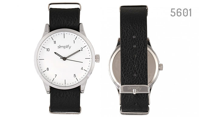 Simplify 5600 Genuine Leather Watches- 5 Designs