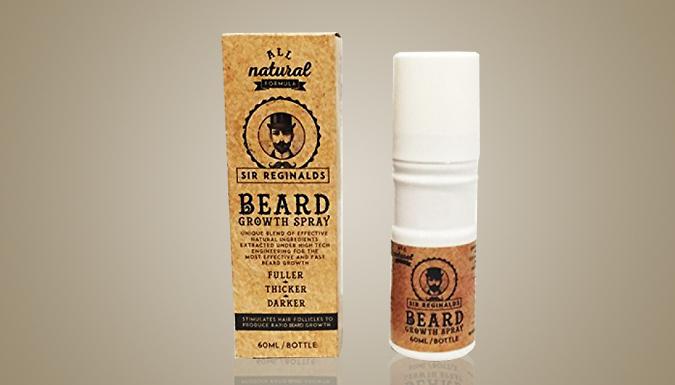 1 or 2 Sir Reginald's Beard Growth Sprays