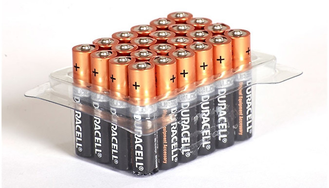56% Off – Duracell AA or AAA Batteries – Pack of 12, 24, 40, 48 or 60 – National Deal (£7 at Go Groopie)