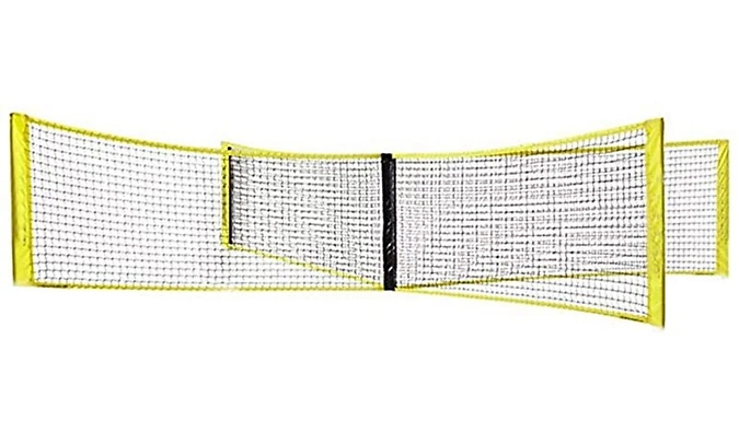 Outdoor Portable Four-Way Volleyball Net