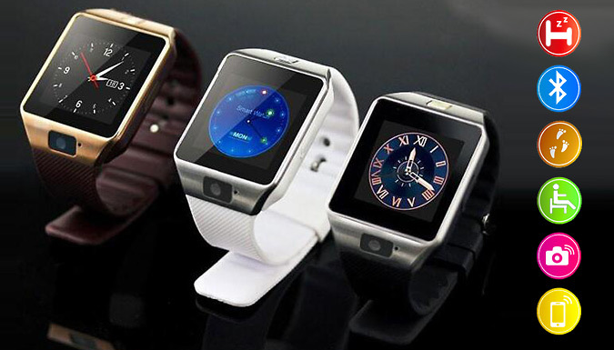 DZ09 Touch Screen Smartwatch - 3 Colours