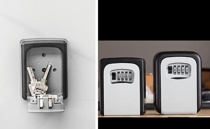 Wall-Mounted Key Safe - 2 Sizes