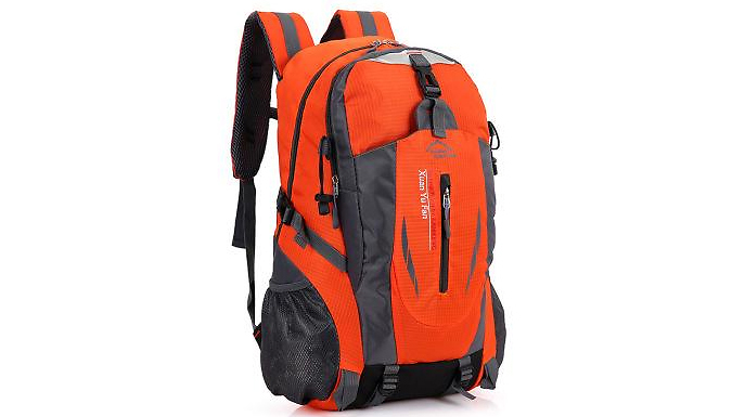 40L Travelling Backpack - 6 Colours from EClife-Style