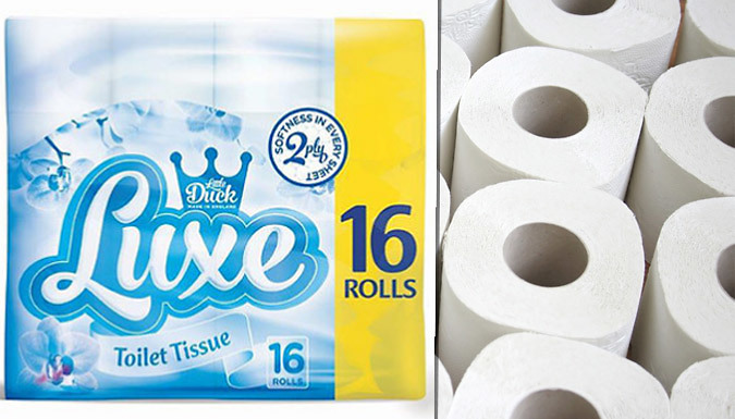 Little Duck Luxe Soft 2Ply Toilet Rolls  80 or 160