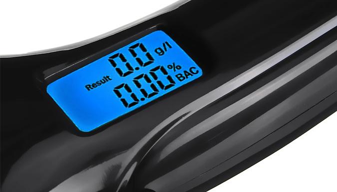 Portable Digital Breathalyzer Keyring
