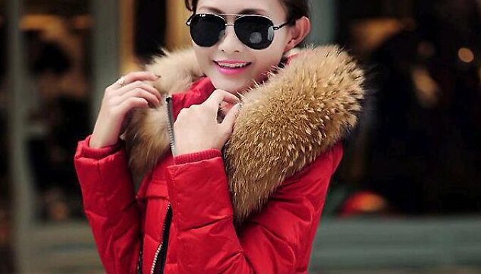 Faux-Fur Hooded Puffer Parka - 3 Colours