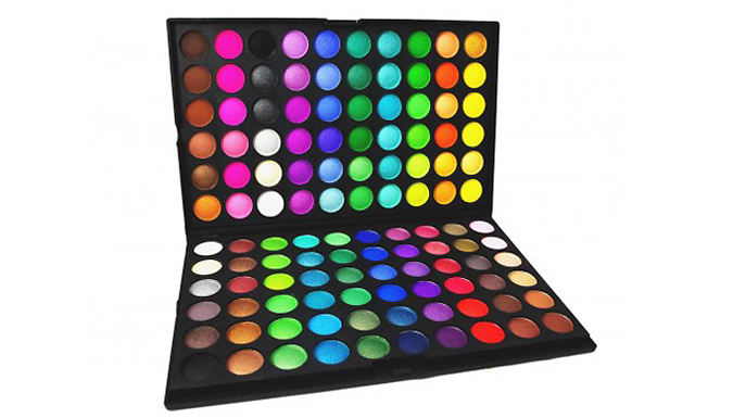 120 Colour Eyeshadow Palette