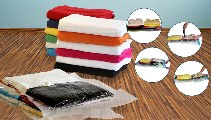 Pack of 12 Vacuum Storage Bags