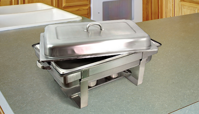 Stackable Stainless Steel Dish Set