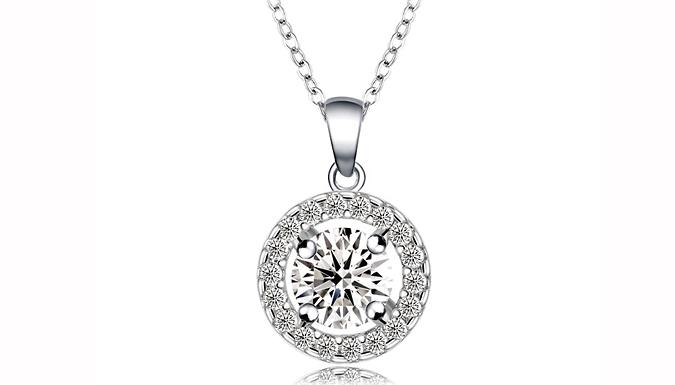 Swarovski Elements Sunshine Crystal Necklace