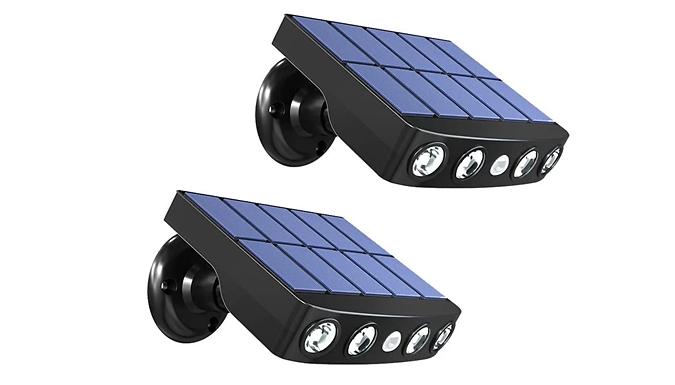 PIR Motion Sensor Outdoor LED Street Lamp - 2 Colours
