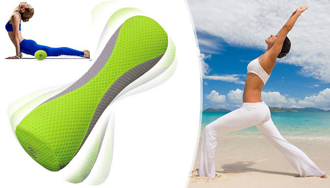 Electric Massaging Yoga Roller