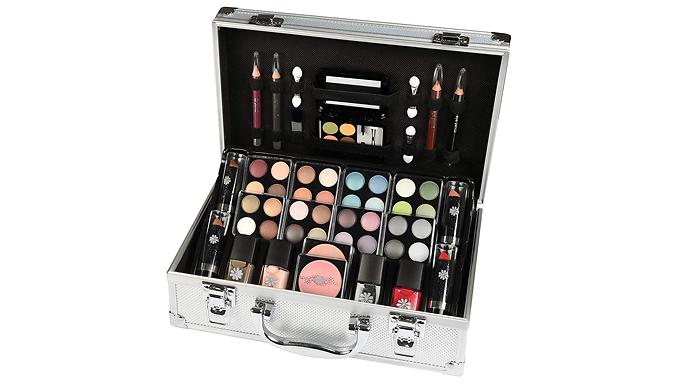 51-Piece Make Up Vanity Case Set