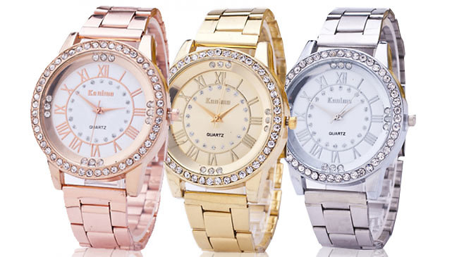 Women's Stainless Steel Sports Watch - 3 Colours