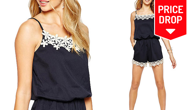 Cami-Style Playsuit - 3 Sizes