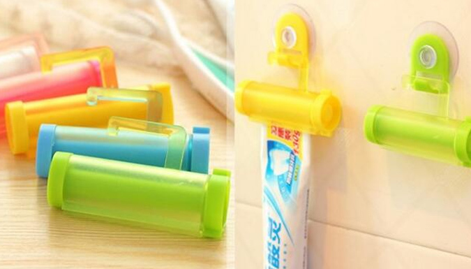 5-Pack Toothpaste Squeezer - 5 Colours