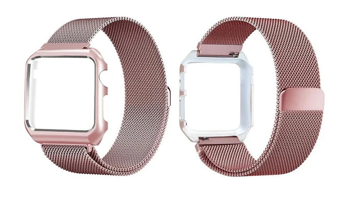 Stainless Steel Replacement Band for Apple Watch  4 Sizes & 4 Colours