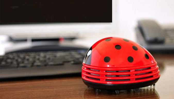 Mini Ladybug Table Vacuum Cleaner  1 or 2
