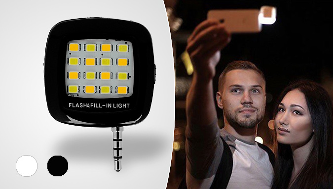 Selfie Audio Jack Light