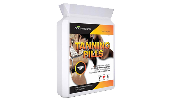 Tanning Pills Ultra - 2 or 4 Month Supply