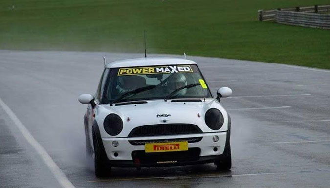 20-Minute Mini Cooper Race Car Track Experience with Photo and Video Package - 7 UK Locations