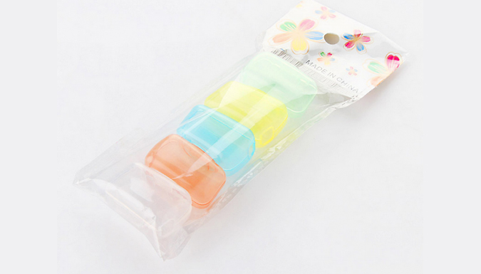 5-Piece Portable Toothbrush Head Cover
