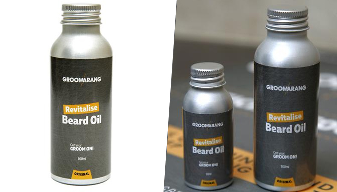 Compare retail prices of 'Groomarang' Beard Oil - 30ml or 100ml to get the best deal online