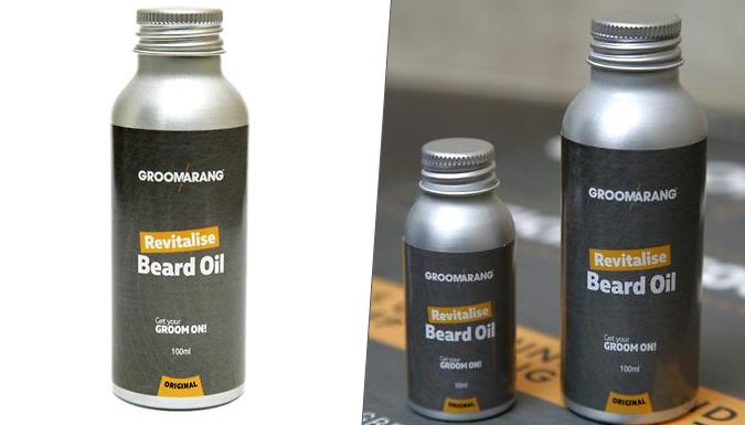 'Groomarang' Beard Oil - 30ml or 100ml