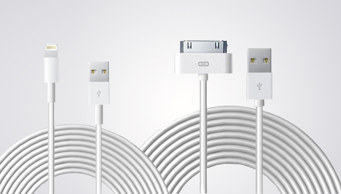 10ft USB Charging Cable For iPhone 4/5/6/6S/7