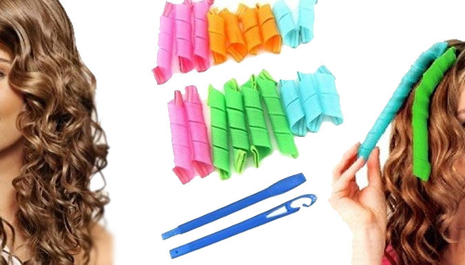 Super Hair Curlers - 18-Piece Set