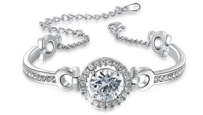 Swarovski Elements Faith Bracelet