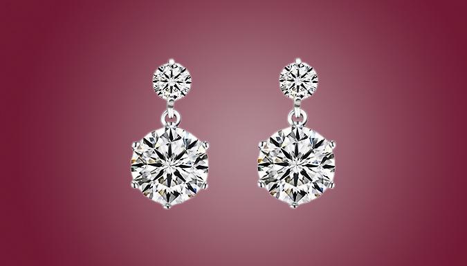 Swarovski Elements Crystal Drop Earrings
