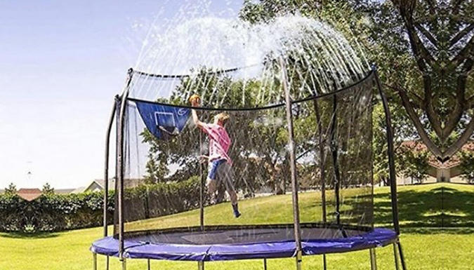 Cooling 12m Trampoline Spray Hose - Create Your Own Waterpark!