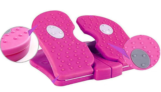 Portable Mini Stepper Fitness Machine from Wish Whoosh Offers