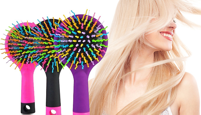 AntiStatic Knot Free Hair Brush  3 Colours