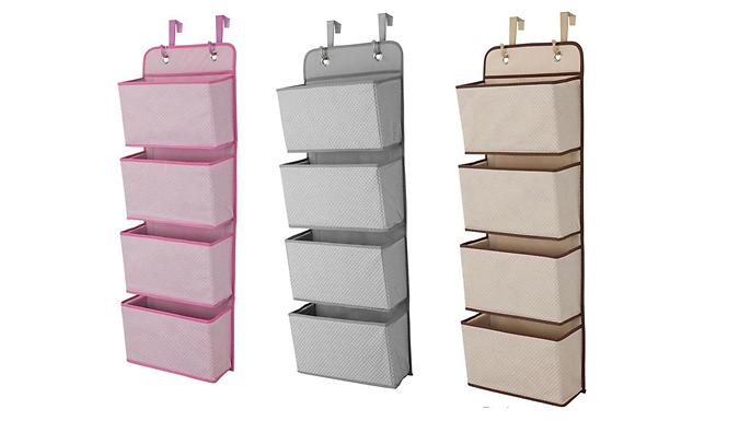 Door Hanger Storage Shelves  - 3 Colours