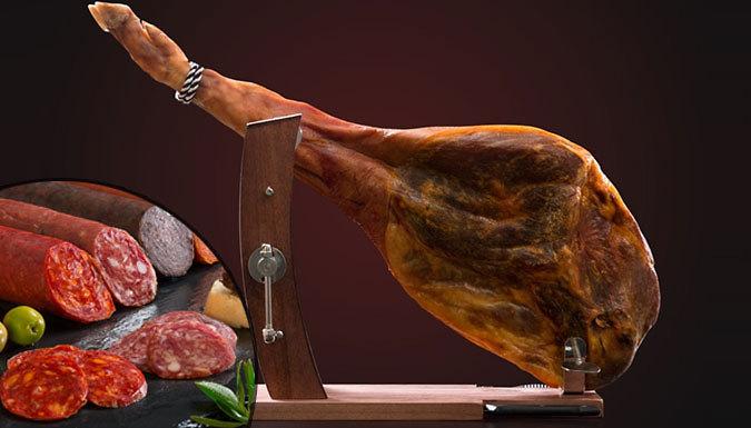 9Piece 4.5kg Serrano Ham Shoulder Set
