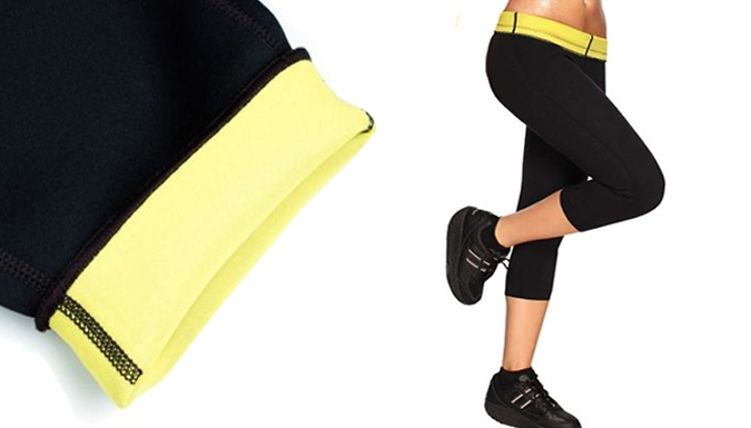 High-Waisted 'Body-Shaping' Gym Pants