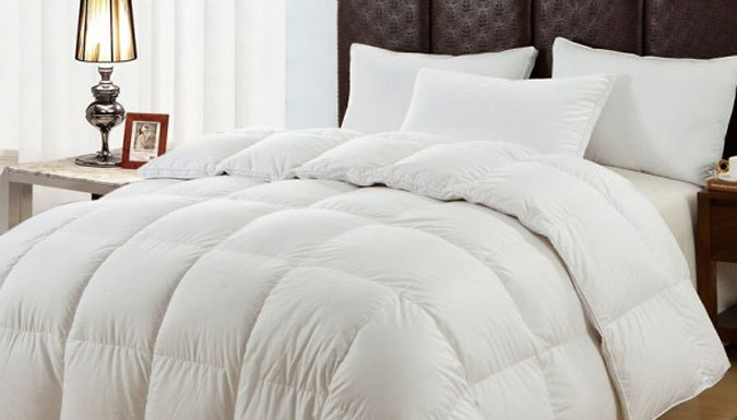 Save on Premium Hotel-Quality Microfibre Duvet - 3 Sizes from Go Groopie