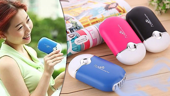 Portable Mini Handheld Air Conditioner  2 Colours