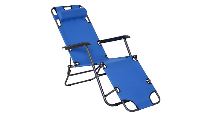 Outsunny Lounger - 3 Colours