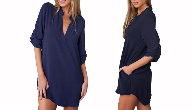 Oversized Chiffon Shirt - 2 Colours