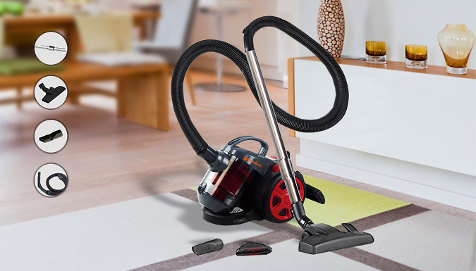 Bagless Cyclone Vacuum With Telescopic Handle