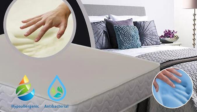 Compare retail prices of 'Cooling' Memory Foam Mattress with Orthopaedic Benefits - 3 Sizes to get the best deal online